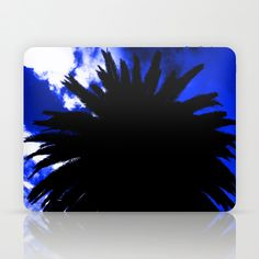 Palm Trees Silhouette - Groove Of Midnight Laptop & iPad Skin