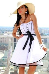 Very Pretty WHITE DRESS, Cute & Inexpensive Dresses on This Site