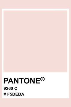 PANTONE 9260 C #pantone #color #pastel #hex Pantone Colour Palettes, Pantone Color, Paleta Pantone, Pantone Matching System, Pantone Swatches, Pms, Pastel Colors, Design, Pallets