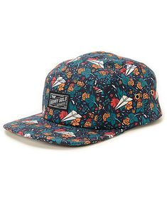 dd0db45e8dcd8 Benny Gold Dolores All-Over 5 Panel Hat