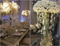 Stunning wedding decor by Mindy Weiss Bling Wedding, Floral Wedding, Wedding Flowers, Dream Wedding, Love Wedding Themes, Wedding Decorations, Wedding Ideas, Wedding List, Wedding Events