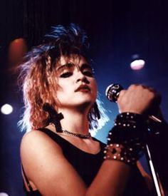 Madonna (1985), Crazy For You / Vision Quest. In 1985 Madonna made a cameo appearance in the movie Vision Quest: she's seen as a singer in a club. She performs the song Crazy For You. This lovely ballad became Madonna's second #1 hit in the US (after Like A Virgin), which was certified Gold.