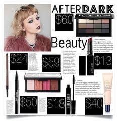 """""""After Dark Beauty"""" by sheetal2002 ❤ liked on Polyvore featuring beauty, Estée Lauder, Laura Geller, Trish McEvoy, Bobbi Brown Cosmetics, NARS Cosmetics, Witchery and Lord & Berry"""