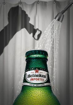 """Publicidad impresa """"PSYCHO"""" hecho por la agencia de publicidad """"Y&R Puerto Rico"""" para el producto: Heineken."""