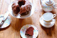 Chocolate Cake: egg free, gluten free and dairy free