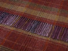 Shetland Mulberry Huntingtower Throw