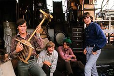 The Monkees Group Photo from Original Transparnecy
