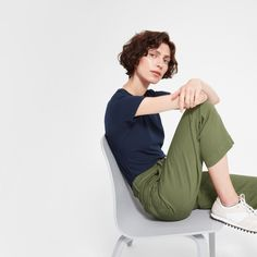 Women's Straight Leg Crop | Everlane