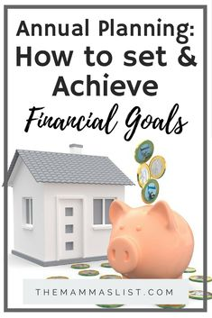 Your finances don't have to make you anxious. Set an annual plan to take control of your money. With just five quick steps you can set and achieve financial goals!   via @Themammaslist