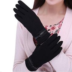 3dd924e01 Fashion Ladies Fur Touch Screen Winter Outdoor Sport Snow Warm Womens Gloves  #fashion #clothing
