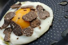 Egg with truffle