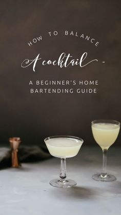 How to Balance a Cocktail - A Beginner's Guide to Making Delicious Drinks at Home | Libation Magazine