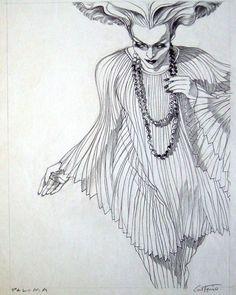 British Vogue 1972- Antonio Lopez