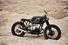 racecafe: motorcycles-and-more:BMW R60/6 Cafe Racer BXRust N Dust