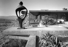 The house Hugh Kaptur designed for William Holden in Palm Springs's Southridge neighborhood.