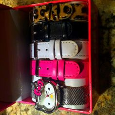 My friend got Hello Kitty watches for her bday!