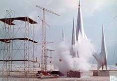 First Spaceship on Venus (via Retro Sci-fi Image Repository of Greater Boston)