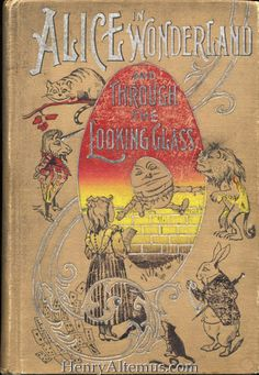 An 1895 Alice in Wonderland book. Probably the best Altemus Alice format. Alice http://henryaltemus.com/series/images/S167_F4_v2.jpg