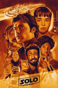 samgilbeyillustrates solo a star wars story Star Wars Film, Star Wars Han Solo, Star Wars Poster, Star Wars Love, Star Wars Fan Art, Han Solo And Chewbacca, Movies And Series, Star Wars Wallpaper, New Star