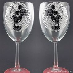 Custom Handpainted Kissing Mickey Mouse Glassware by ClubVinoCrafts. Top-rack dishwasher safe. A sweet idea for any gay wedding toast or gift! Personalization at the bottom of the glass is available.