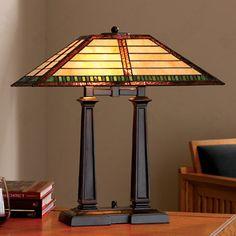 Desk Lamp- Frank Lloyd Wright.  Art Experience NYC  www.artexperiencenyc.com/social_login/?utm_source=pinterest_medium=pins_content=pinterest_pins_campaign=pinterest_initial