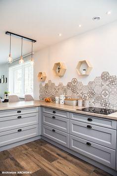 Dom w sansewieriach Double Vanity, Kitchen Cabinets, Bathroom, Home Decor, Home, Washroom, Decoration Home, Room Decor, Cabinets