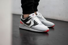 Check out the Nike Air Pegasus 89 NS Bright Crimson. A great subtle shoe with just a little bit of pop. Nike Air Pegasus, Air Max 90, Nike Air Max, Reebok, Air Max Sneakers, Shoes Sneakers, Baskets, Sneaker Bar, Athletic Gear
