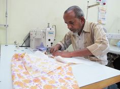 Stitching work for our new kids collection at Mehera Shaw New Kids, Ethical Fashion, Fair Trade, Print Design, Stitching, Artisan, Collection, Costura, Sustainable Fashion