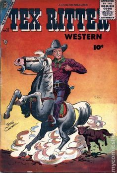 Tex Ritter   Tex Ritter Western (1950) comic books