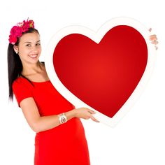 Woman Holding A Heart Free Stock Photo - Public Domain Pictures Video Photography, Beauty Photography, Beauty Life Hacks Videos, Summer Makeup Looks, Long Haired Chihuahua, Shih Tzu Mix, Happy Puppy, Beauty Art, Kids Nutrition