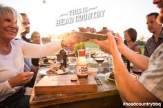 Friends, food, and family ... This is Head Country. #HeadCountryBBQ #BBQ #cooking #food