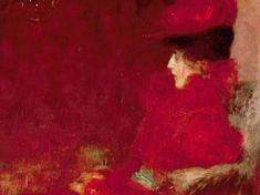 Gustav Klimt 'Dame im Fauteuil' 1897
