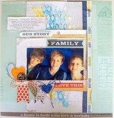 Life Paper Scrapbook - November Colour Challenge