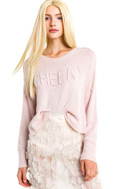 cheeky cherie sweater