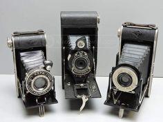 shopgoodwill.com: 3 Untested Vintage Folding Cameras-Agfa-Kodak #vintage #cameras #kodak #agfa #photographer #goodwill