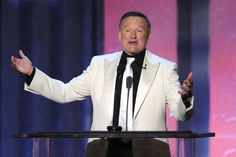 Robin Williams Is Dead At Such a sad ending to a man who brought so much joy to peoples lives. You will be missed Robin Williams! Robin Williams Death, Battling Depression, Shocking News, White Suits, Successful People, Celebrity Gossip, Comedians, Beautiful People, Perfect People
