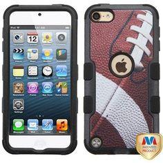 MYBAT TUFF II Apple iPod Touch 5th / 6th Gen Case - Football