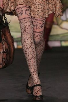 I am obsessed with Anna Sui tights