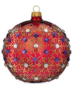 Waterford Christmas Ornament Holiday Heirloom Beliefs Ball Home All Holiday Lane Macys
