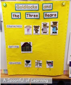 Goldilocks and the Three Bears Activities! and FREEBIES! More