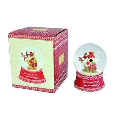 Boofle christmas snow globe