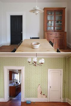 Soft Chamois (walls) Simply White (trim, ceiling) Benjamin Moore