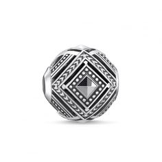 Thomas Sabo Karma Bead Silver Abstract 'Africa' Charm K0247-637-21