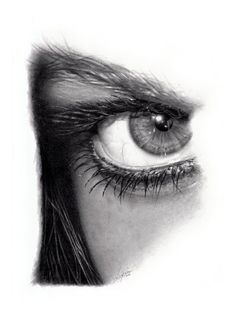 ojo en lapiz
