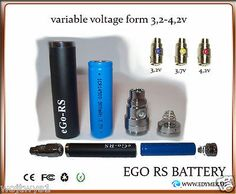 Ego RS - Variable Voltage 900mAh Rechargeable ego rs Batteries