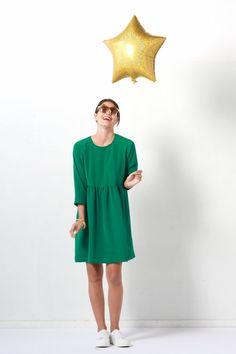 Patron de couture gratuit: la robe facile à coudre vidéos de  démonstration incluse