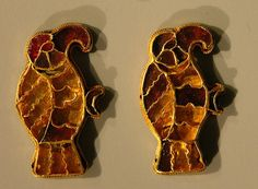Bird Brooches Anglo  Saxon British  Museum