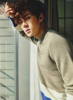 CéCi Magazine, February 2016 Issue : Sehun