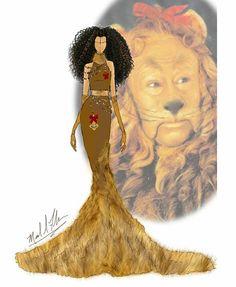 Michael Anthony - The Wizard of Oz The Cowardly Lion Disney Princess Fashion, Disney Princess Dresses, Disney Outfits, Disney Style, Disney Love, Courage The Cowardly Dog, Cowardly Lion, Disney Designs, Fandom Fashion