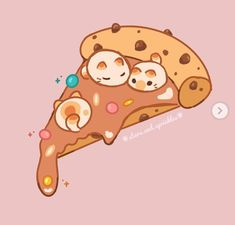 Cute Kawaii Animals, Cute Animal Drawings Kawaii, Arte Do Kawaii, Kawaii Art, Kawaii Doodles, Cute Doodles, Cute Art Styles, Cartoon Art Styles, Kawaii Stickers